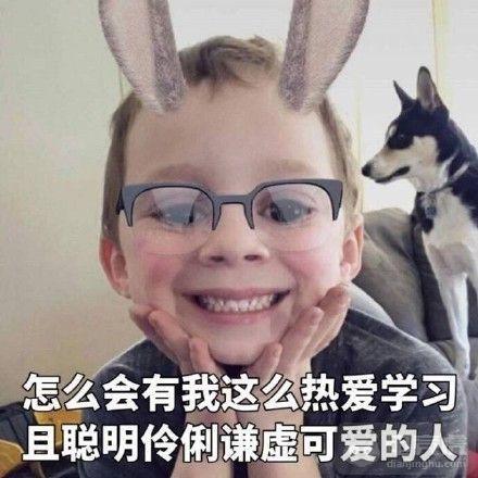 假笑男孩表情:我的笑表情我穿的保护色一起鄙视只是包图片